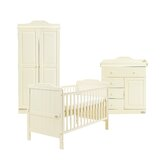 Alexia 2 Piece Nursery Set in Vanilla