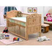 Filip Playbead Convertible Dropside Cot Bed in Natural Lacquer