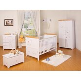 Three Bears 7 Piece Nursery Set in White