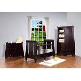 Lucas 3 Piece Nursery Set in Espresso