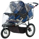 Double Swivel Wheel Stroller Weather Shield Cover