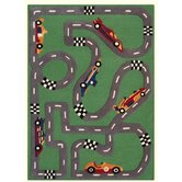Kinder Race Track Kids Rug