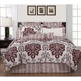 Printed 300 Thread Count 3 Piece Duvet Set in Country Ridge
