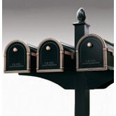Decorative Side Bracket for 2 Mailboxes