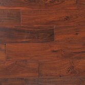 "Kensington II 5"" Hand-Scraped Engineered Acacia in Cabernet Walnut"