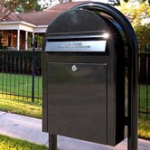 USPS Bobi Post Mounted Mailbox
