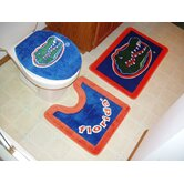 Florida Gators 3 Piece Bath Rugs