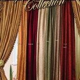 Violet Linen Curtains and Valances