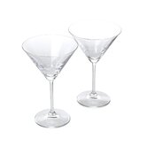 Vintage Large Martini Glasses (Set of 2)