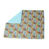 Pack and Play Waterproof Quilted Pad with Jungle Print Pattern