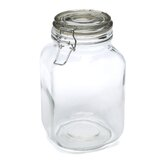 Glass Heremes Clamp Jar