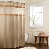 Buena Vista Fabric Shower Curtain in Natural