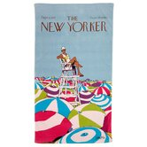 Conde Nast New Yorker On Duty Beach Towel