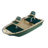 12' Pro 120 Deluxe Fishing Boat in Beige / Green