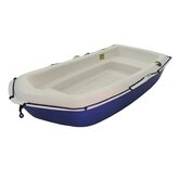 Sportyak Dinghy with Oars in Cream / Blue