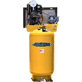 5 HP 80 Gallon 1PH Vertical 2 Stage Stationary Air Compressor