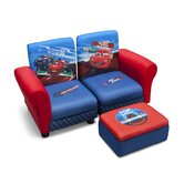 Disney Pixar's Kids Sofa and Ottoman