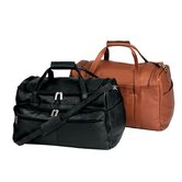 "19.5"" Vaqueta Napa Leather Deluxe Gym Duffel"