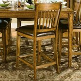Blue Ridge Retreat Counter Stool In Distressed Chestnut Oak (Set of 2)