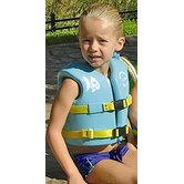 USCG Approved Child's Vinyl Vest with Leg Strap