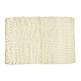 "Loop Twist Bath Mat in Bone 1'8"" x 2'8"""