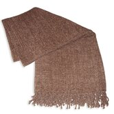 Grace Chenille Throw in Mocha