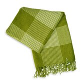 Bucolic Chenille Throw in Green