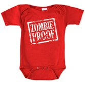 Zombie Proof Bodysuit with Short Sleeve