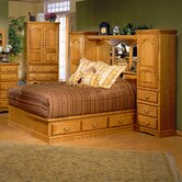 Country Heirloom Pier Wall Platform Bedroom Collection