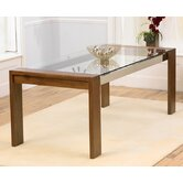 Roma Walnut 200cm Dining Table