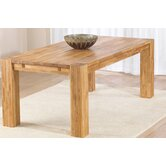 Madrid Chunky Solid Oak Dining Table