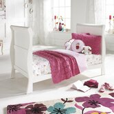 Bailey Sleigh Cot and Mattress Set