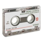 Dictation Cassette, Standard, 60 Minute