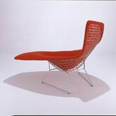 Asymmetric Chaise Lounge with Full Cover by Harry Bertoia