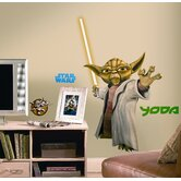 The Clone Wars Giant Yoda Peel and Stick Wall Decal