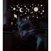 Celestial Peel and Stick Wall Sticker