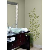 Leaf Scroll Peel and Stick Wall Decal