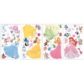 Licensed Designs Disney Princess Peel and Stick Wall Decal
