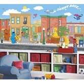 XL Murals Sesame Street Wall Decal