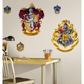 Licensed Designs Harry Potter Crest Peel and Stick Giant Wall Decal