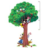 Licensed Designs Mickey and Friends Peel and Stick Growth Chart