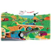 Licensed Designs Thomas and Friends Peel and Stick Giant Wall Decal