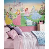 XL Murals Dancing Princess Chair Rail Wall Decal