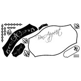 Bon Appetit Dry Erase Peel and Stick Giant Wall Decals