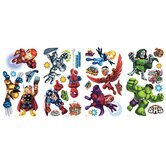 Marvel Super Hero Squad Peel and Stick Wall Decal