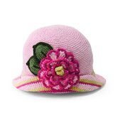 Baby Flower Brim Hat