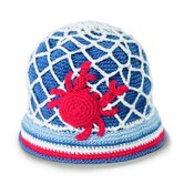 Baby Crab Crochet Bucket Hat