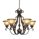 Brompton 6 Light Chandelier
