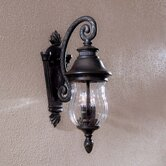 Newport Two Light Outdoor Wall Lantern in Heritage