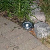 Solar Stainless Steel Step Light